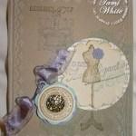 Established Elegance Vintage Card