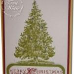 Christmas Lodge Card – Part I