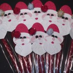 VIDEO TUTORIAL: Santa on a Stick Candy Treat