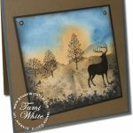 Nature Silhouettes Deer Card – Part 1