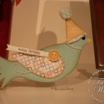 Elegant Bird Die Cut ideas