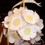 Mixed Bunch 3-D Flower Ornament