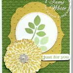 Betsy's Blossoms Card