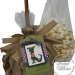 VIDEO TUTORIAL: Witches Broom Halloween Popcorn Bags