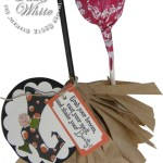 VIDEO TUTORIAL: Bootiful Halloween Witches Broom Lollipop