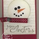 PROJECT: Snowman Card & Sale totals