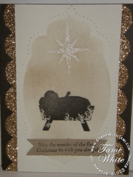 CARD The Reason For The Season Part III Stampin Up