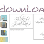 MDS DOWNLOADS: Holidays, Mothers Day and Birthday