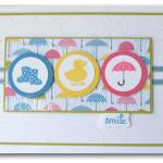 CARD: Spring Sampler from guest blogger Linda Cullen
