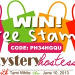 SPECIAL: Mystery Hostess Code PH34HGQU thru June 10