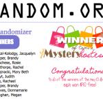 WINNERS: May Mystery Hostess – 10 Winners!