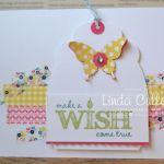 CARD: Washi Tape Background