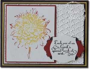 blooming with kindness-stampin up