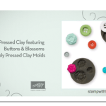 VIDEO: Simply Pressed Clay & Buttons and Blossoms Clay Molds
