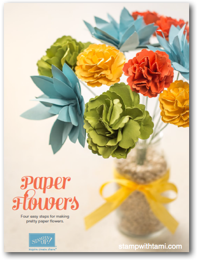 How to Make Paper Flowers at Home with a Flower Punch Board | How ... | 531x403