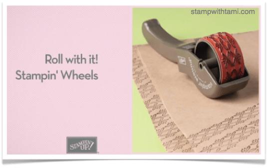 stampin up stampin around wheels