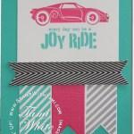 CARD: Rev Up the Fun Pink Sports car
