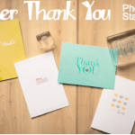 NEW: Clear Photopolymer Stamp Set – Another Thank You