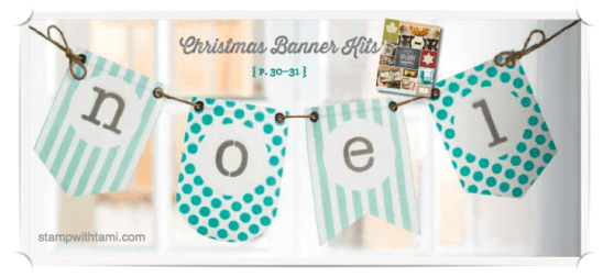 stampin up christmas banner kit