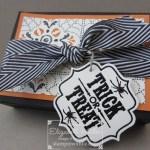 PROJECT: Liz's 'Treat or Treat' Pizza Box