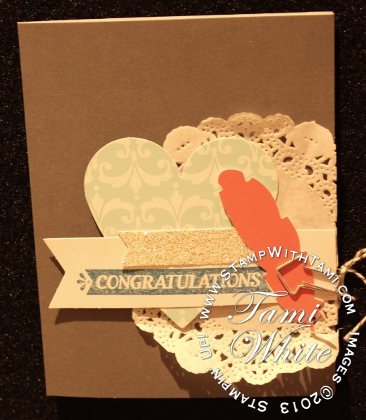 CARDS Ideas From The New Everyday Occasions Kit Stampin