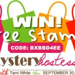 WIN FREE STAMPS: New Hostess Code BXBBD4EE (+ winners of last drawing)