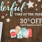 MDS: 30% Off Sale, New downloads and Digital Scrapbooking Days info