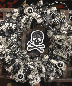 paper wreath-halloween banner kit