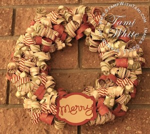 paper wreath-season of style