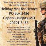 NEWS: Holiday Cards for Troops