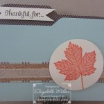 CARD: Magnificent Maple File Folder Card