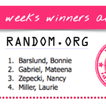 NEWS: Free Stamp Friday – Mystery Hostess Winners for the week