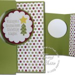 CARD: Christmas Messages Swing Card