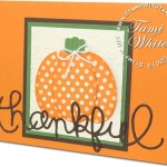 CARD: Expressions Thankful Pumpkin