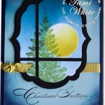 CARD: Special Season Window Pane Christmas Tree