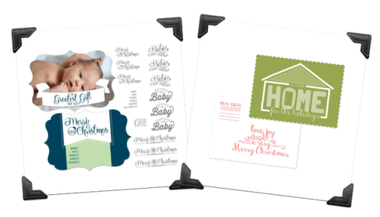 stampin up mds shaped card template