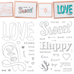 NEW: Countless Sayings Photopolymer Stamp Sets I & II