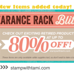 NEW! 80% OFF Clearance Rack – items just added