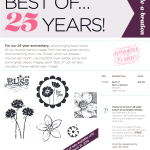 BEST OF 25 YEARS: December Edition – Best of Sale-a-Bration