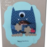 CARD: Monster Hugs Chocolate Valentines Card