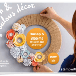 VIDEO: Burlap and Blooms Wreath Kit
