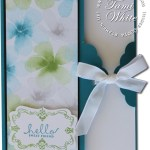 CARD: Watercolor Wonder Scallop Tag Topper
