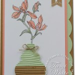 """VIDEO: """"Outside the Holiday Box"""" Ornament Vase Card"""