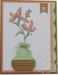 backyard basics-stampin up