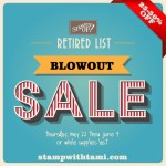 SALE: Stampin Up Retirement List Blow Out