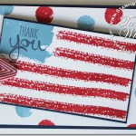 VIDEO: Work of Art American Flag card
