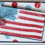 VIDEO: Work of Art American Flag card