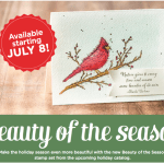 """NEW: Beauty of the Season """"Sneak Peak"""" stamps available"""
