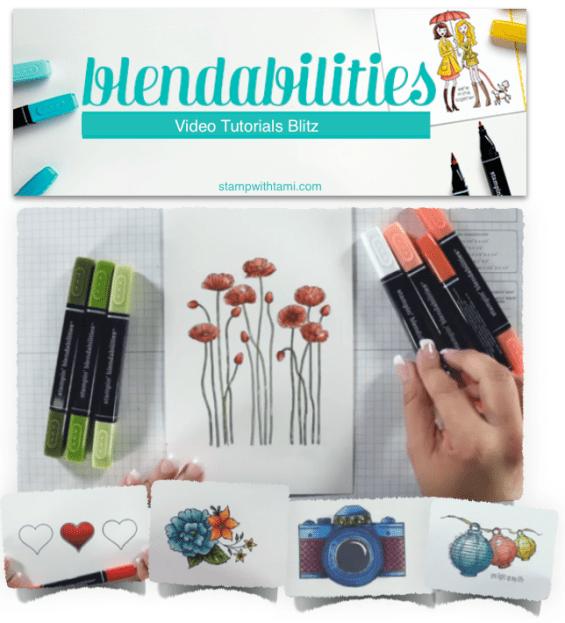 stampin up blendabilities video tutorials