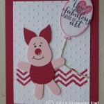 CARD: Piglet Punch from Winnie the Pooh